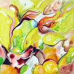 """""""Fowers"""", ein Gemälde von Frau Dernbach"""