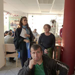 """Am 31. Oktober gegen 15 Uhr begrüßte die Vorsitzende des Bürgervereins Christiane Kerner im Beisein von Bürgermeisterin Marion Schäfer-Blake die Gäste im Cafe """"Mittendrin"""" und eröffnete damit das Fest"""