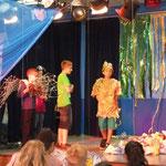 Ein Kindertheaterstück zur Unterhaltung der Gäste
