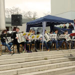 Viel Beifall bekam das Akkordeon-Orchester unter der Leitung von Alexander Schröder