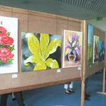 Der Ausstellungsraum in Gethsemane