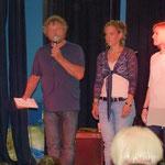 Johannes Diegruber, Anni Mündlein und Tatjana Hering vom JZH begrüßten die Gäste