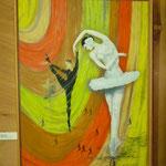"""""""Balletteuse"""", Öl auf Leinwand, von Vladimir Vetrov"""