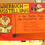 Eingang zur Kinderbuch-Ausstellung