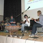 Von links: Dieter Müller, Udo Zschiesche und Mandy Stöhr