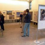 Der kleiner Ausstellungsraum: Hier wurde die Fotokunst gezeigt
