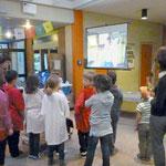 Dieser Film entstand in der Schule mit Hilfe von Studenten und wird nach Barcelona geschickt