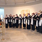"Der ""Joyful Praise Choir"", ein Kirchenchor aus Boston"