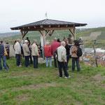 2009 wurde das Aussichtspavillon von den Feldgeschworenen erbaut