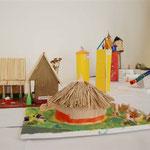 Von den Kindern erarbeitete Modelle