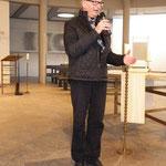 Offizielle Eröffnung der Ausstellung durch den Kulturamtsleiter Herrn Johannes Engels