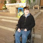"""""""Hoffnung"""" vom Körperbehinderten-Zentrum Heuchelhof mit einer der Künstlerinnen"""