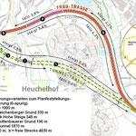 Der geplante Tunnel unter dem Heuchelhofberg
