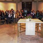 Standing ovation für die Künstler am Schluss der musikalischen Veranstaltung