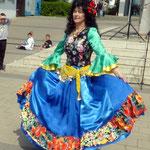 Einen feurigen Zigeunertanz führte Galina Poshelyuzhna vor