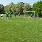 Der FC Porto (weiß) gewann das Spiel gegen Bayern München (grün) 2.1