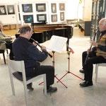 """Die """"Würzburger Tafelmusik"""" mit Wladimir Ginsburg (Oboe), Ernst-Martin Eras (Englisch Horn) und Wolfgang Uhl (Klavier)"""