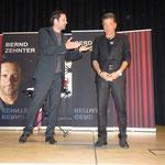 Die beiden Magier: Links Bernd Zehnter, rechts Gerd Reitmaier