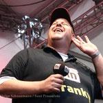 ffn Morgenmän Franky sorgte am Samstag für Stimmung auf der ffn Bühne (14.07.12)