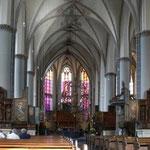 Das Hauptschiff der St.-Pankratius-Kirche in Kalkar.
