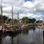 Zur Wattn´Sail ist das Nordseebad Carolinensiel beliebter Anlaufpunkt für viele alte Segelschiffe
