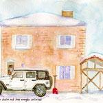 Jeepと我が家