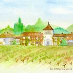 フランスボルドーのワイン農園