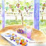 葡萄園のレストラン