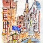 ベルギー・運河の街ブルージュ