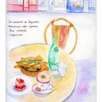 パリ・カフェでのひととき