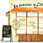フランスのパン屋さん