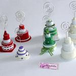 Art. 27A- Tortine in pasta modellabile realizzate a mano in vari colori e modelli
