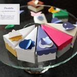 Art.1 B-   portaconfetti, segnaposto, fetta di torta, scatoline nozze