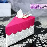 Art.31B-    portaconfetti, segnaposto, fetta di torta, scatoline nozze