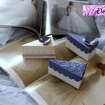 Art.39B-    portaconfetti segnaposto fetta di torta