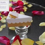 Art. 8B-   portaconfetti, segnaposto, fetta di torta, scatoline nozze