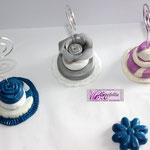 Art.3  A-Tortine in pasta modellabile realizzate a mano in vari colori e modelli