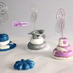 Art.4  A-Tortine in pasta modellabile realizzate a mano in vari colori e modelli