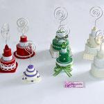 Art.28 A- Tortine in pasta modellabile realizzate a mano in vari colori e modelli