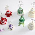 Art.29A-  Tortine in pasta modellabile realizzate a mano in vari colori e modelli