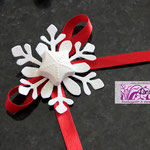 Art. 341 E Fiocco di neve glitterato con gessetto