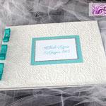 Guestbook verde tiffany