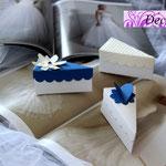 Art. ,38B-    segnaposto, fetta di torta, scatoline nozze
