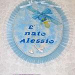 Art. 45 E Fiocco nascita personalizzato