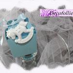 Art. 103 E- borsettina portaconfetti nascita cavalluccio