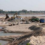 A quelques kilomètres du centre de Vientiane sur les bords du fleuve Mékong. Laos.