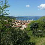 St Tropez von der Burg aus
