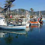 Hafen von Cavalaire sur mer