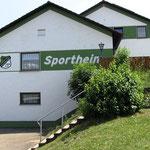 Sportheim (Seitenansicht) des SC Markt Heiligenstadt