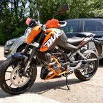 A 1 KTM Duke 125